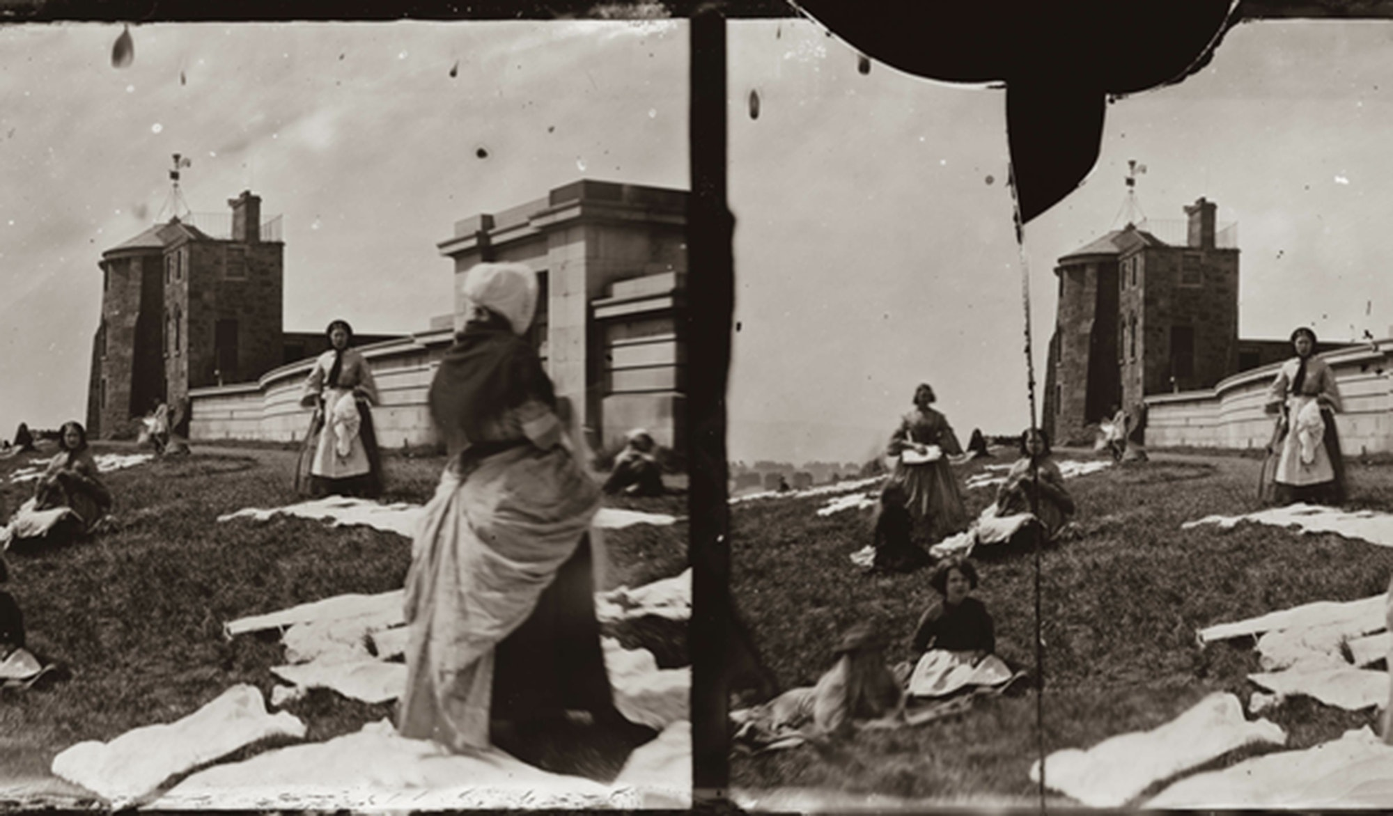 Washerwomen On Calton Hill, Thomas Begbie, 1887, c/o City of Edinburgh Council – Museums and Galleries www.capitalcollections.org.uk